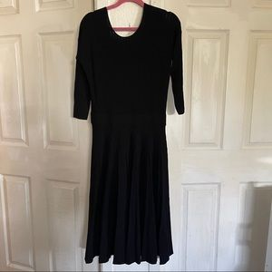 Sezane V shape Back Knit Dress size XL